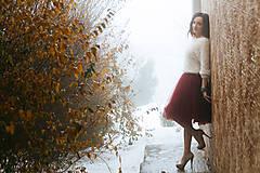 Sukne - tulle sukňa - 8247974_