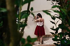 Sukne - tulle sukňa - 8247986_