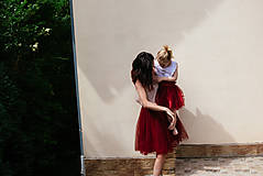 Sukne - tulle sukňa - 8247989_