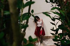 Sukne - tulle sukňa - 8247991_