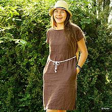 Šaty - Ľanové šaty Damara - 8252690_