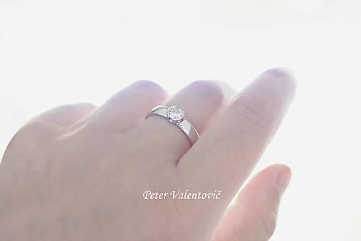 Prstene - Briliantové zásnuby - 8251618_