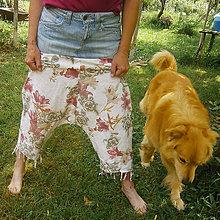 Nohavice - Haremky veľkokveté- zľava z 15,50 - 8249403_