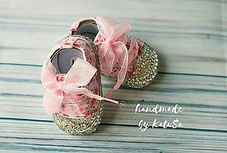 Topánočky - capačky kvetinová lúka - 8249830_