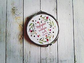 Darčeky pre svadobčanov - Svadobné zrkadielko - 8252811_