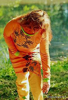 Šaty - Dámske šaty šité, batikované, maľované, etno ŠAKTI - 8249571_