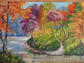 Obrazy - Farby stromov - 8251911_