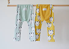 Detské oblečenie - Legíny mini - Tigre - 8249406_