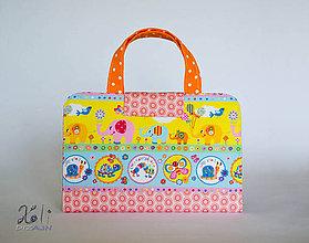 Detské tašky - Detský kufrík na kreslenie - pastelkovník Sloníky - 8252563_