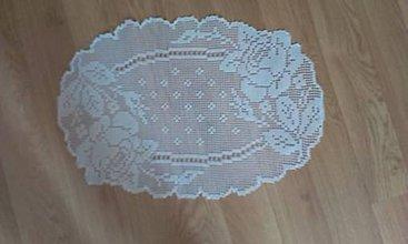 Úžitkový textil - Háčkované obrusy - 8252318_