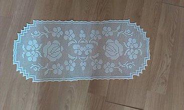 Úžitkový textil - Háčkované obrusy - 8252369_
