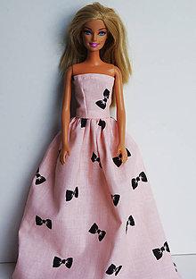 Hračky - Mašličkové letné šaty pre Barbie - 8252872  ccfe2d7e33e
