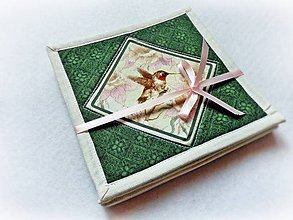 Úžitkový textil - Podšálky Garden Melodies I. - 4 ks - 8250304_