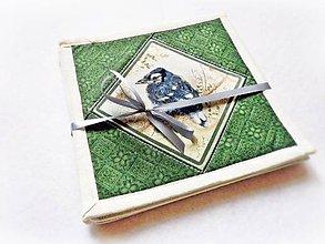 Úžitkový textil - Podšálky Garden Melodies II. - 4 ks - 8250358_