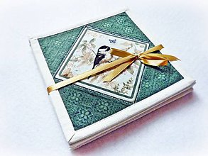 Úžitkový textil - Podšálky Garden Melodies III. - 4 ks - 8250473_
