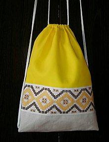 Batohy - RUKSAK folk žltý - 8250123_