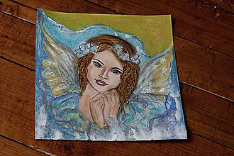 Kresby - angel - 8251491_