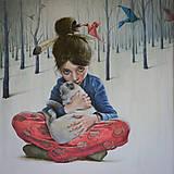 Obrazy - Kým si spal, reprodukcia - 8251448_