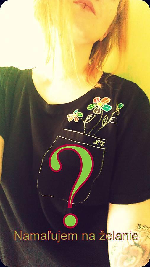 97c17b47cbd7 Ručne maľované tričko na objednávku   entee - SAShE.sk - Handmade Tričká