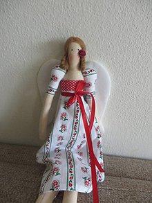 Bábiky - vidiecka anjeločka - 8252499_