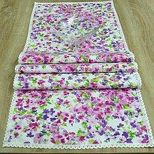 Úžitkový textil - Orgován - stredový obrus 130x40 - 8252105_