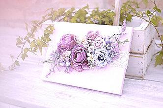 Dekorácie - Kvetinový obraz - 8251711_