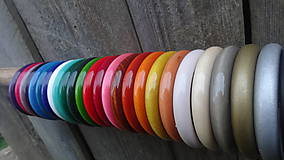 Náramky - Multicolor ploché náramky - 1 - dopredaj - 8251595_