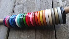 Náramky - Multicolor ploché náramky - 1 - 8251597_