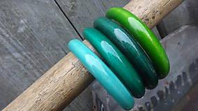 Náramky - Multicolor ploché náramky - 1 - dopredaj - 8251609_