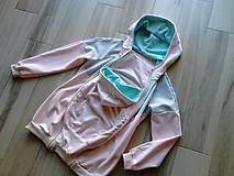 Tehotenské oblečenie - Mikina na nosenie bábätka IX - 8250347_