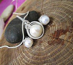 Sady šperkov - perla - 8250661_