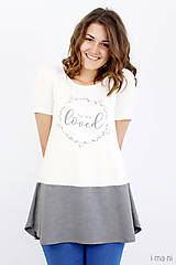 Tričká - Dámske tričko BAMBUS 05 YOU ARE LOVED - 8251109_