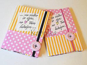 Papiernictvo - Zápisník (Pre pani učiteľku / s gombíkom) - 8254065_