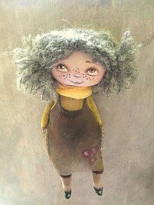 Bábiky - Správná holka - pihovatá - 8254447_