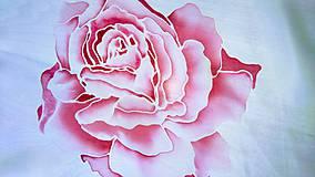 """Šály - Šál hodvábny """"ruže"""" - 8254579_"""