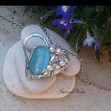 Náhrdelníky - ..BARDO HeaRT... náhrdelník - 8254102_