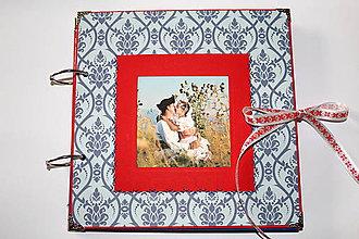 Papiernictvo - Fotoalbum - MAXI zdobenie (Folklórna) - 8255640_