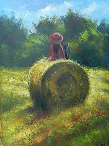 Obrazy - Prázdniny na venkově - 8255798_