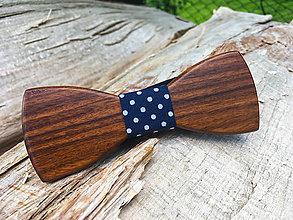 """Doplnky - Dizajnový drevený motýlik """"Handsome Stark I"""" - 8255941_"""