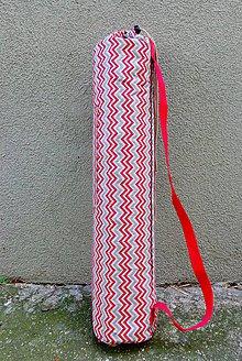Iné tašky - taška na joga podložku - Geometrický vzor - 8255623_