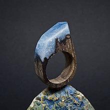 Prstene - Drevený prsteň: S hlavou v oblakoch - 8255971_