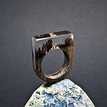 Prstene - Drevený prsteň: Jasný deň - 8256006_
