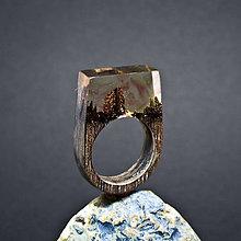 Prstene - Drevený prsteň: Maľované v sne - 8256020_