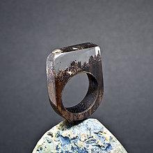 Prstene - Drevený prsteň: Priezračný sen - 8256079_