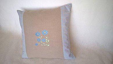 Úžitkový textil - Vankúšik do bytu i na chalupu - 8254702_