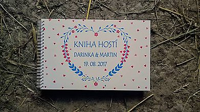 Papiernictvo - KNIHA HOSTÍ - klasická (kniha dizajn podľa želania) - 8254925_