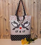 - Nákupná taška - svadba - 8254734_