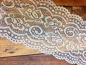 Galantéria - Čipka elastická 10 cm - 8253701_