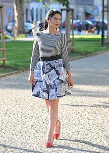 Sukne - Zavinovacia sukňa retro- vel. XS - M - 8254163_