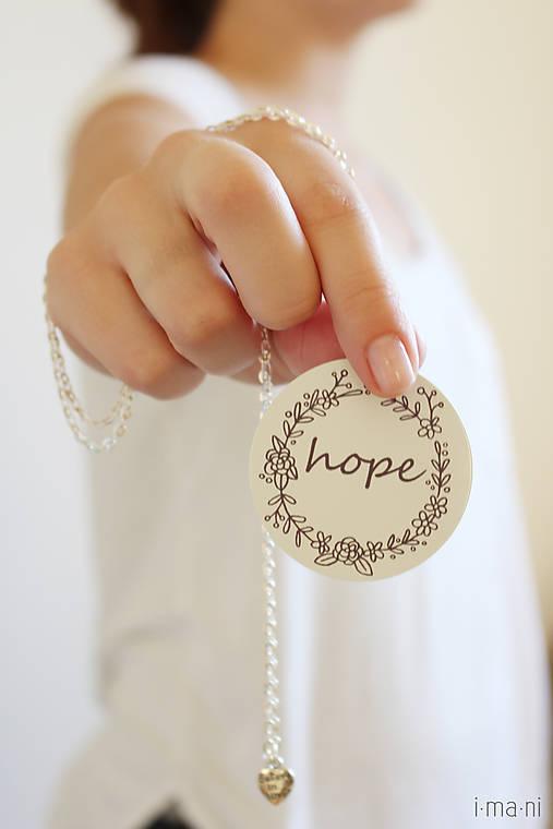 Náhrdelník HOPE